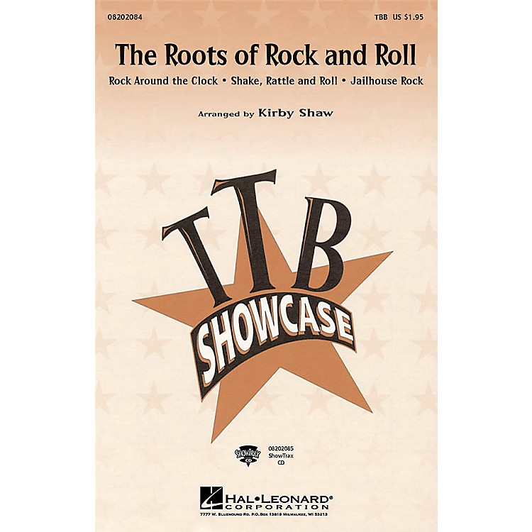 Hal Leonard The Roots of Rock and Roll (Medley) TBB arranged by Kirby Shaw