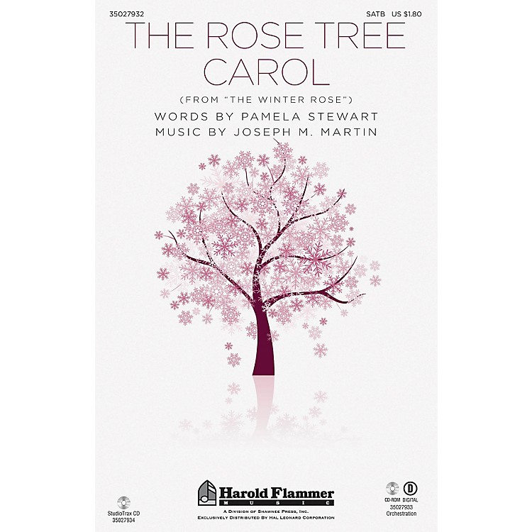 Shawnee Press The Rose Tree Carol (from The Winter Rose) Studiotrax CD Arranged by Joseph M. Martin