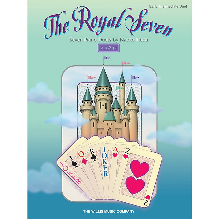 Willis MusicThe Royal Seven (Seven Piano Duets/Early Inter Level) Willis Series Book by Naoko Ikeda