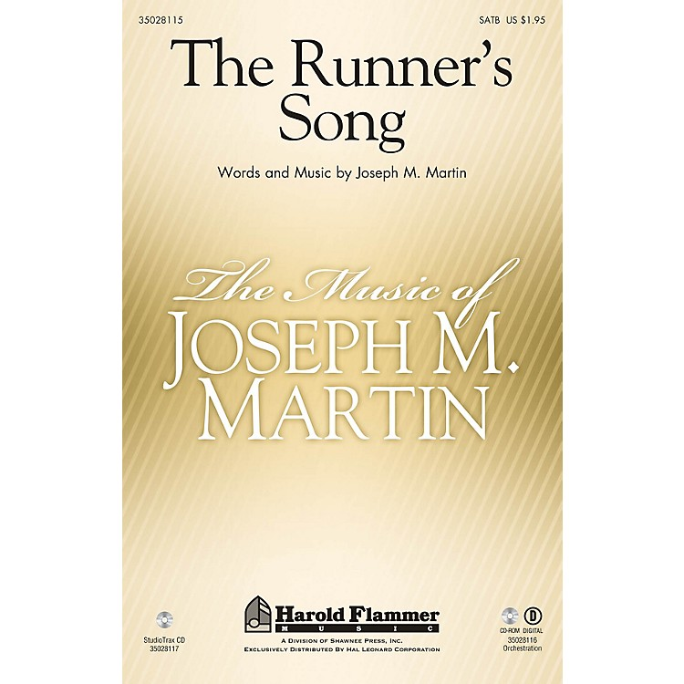 Shawnee PressThe Runner's Song Studiotrax CD Composed by Joseph M. Martin