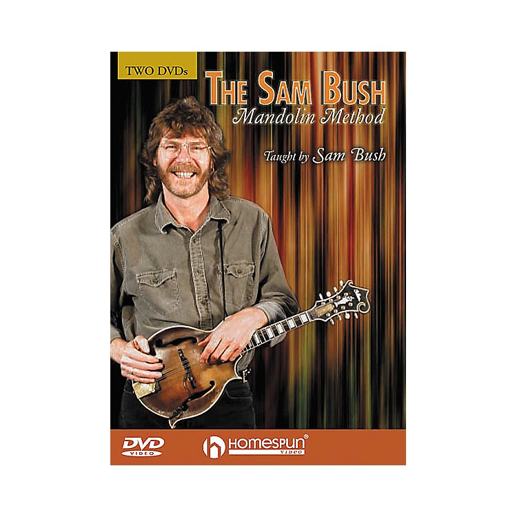Homespun The Sam Bush Mandolin Method 2-Video Set (DVD)
