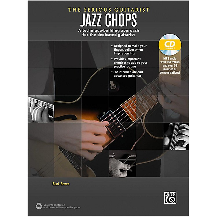 Alfred The Serious Guitarist Jazz Chops Book & CD