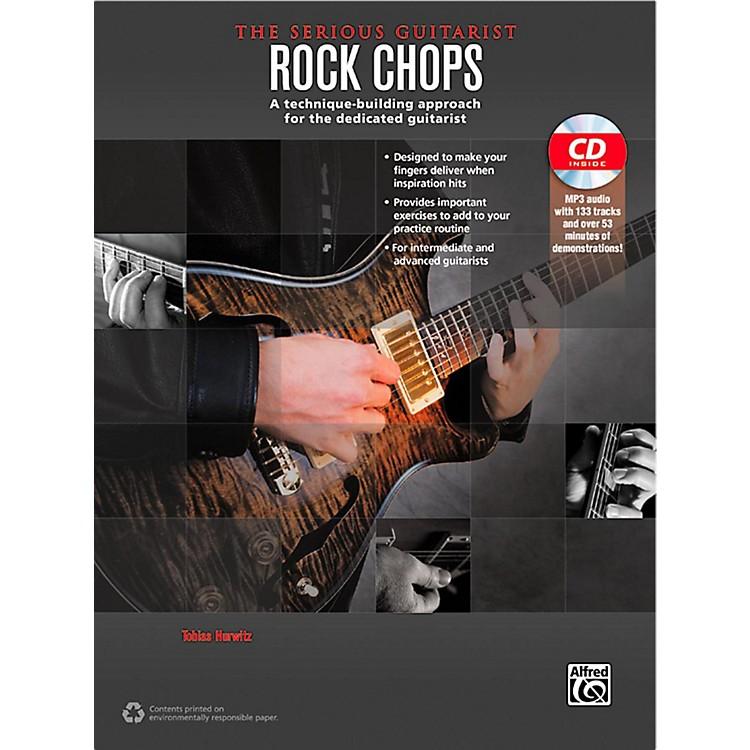 AlfredThe Serious Guitarist Rock Chops Book & CD