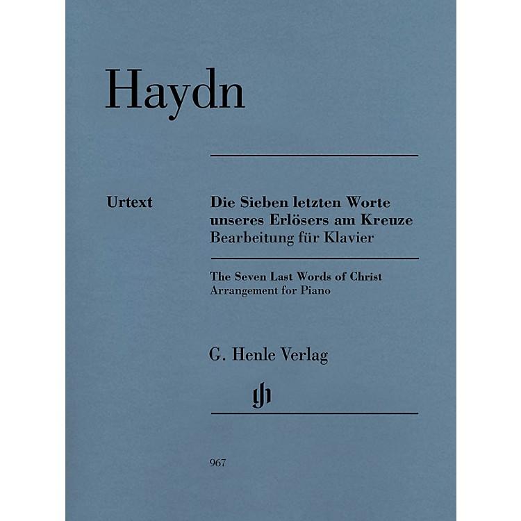 G. Henle VerlagThe Seven Last Words of Christ Henle Music Softcover by Haydn Edited by Ullrich Scheideler