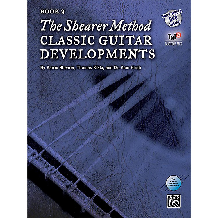 Alfred The Shearer Method Book 2: Classic Guitar Developments Book & DVD