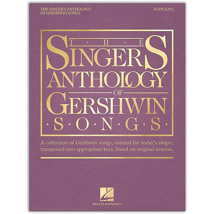Hal LeonardThe Singer's Anthology of Gershwin Songs - Soprano Vocal Collection
