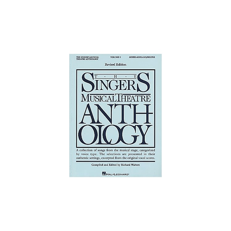 Hal Leonard'The Singer's Musical Theatre Anthology - Volume 2, Revised'