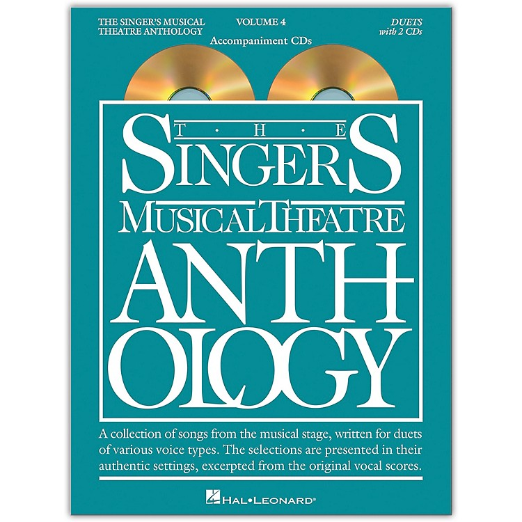 Hal Leonard The Singer's Musical Theatre Anthology: Duets, Volume 4  Set of Accompaniment CDs