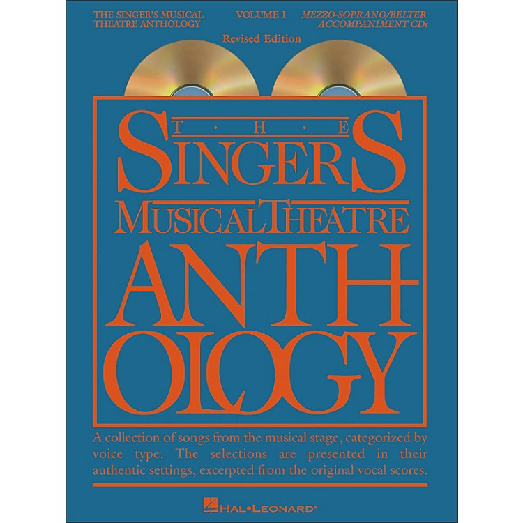 Hal Leonard The Singer's Musical Theatre Anthology for Mezzo-Soprano / Belter Volume 1 (2CDs)