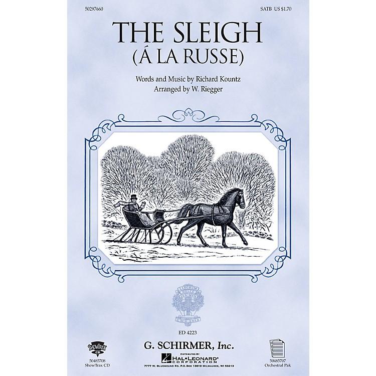 G. SchirmerThe Sleigh (À La Russe) SSA Composed by Richard Kountz