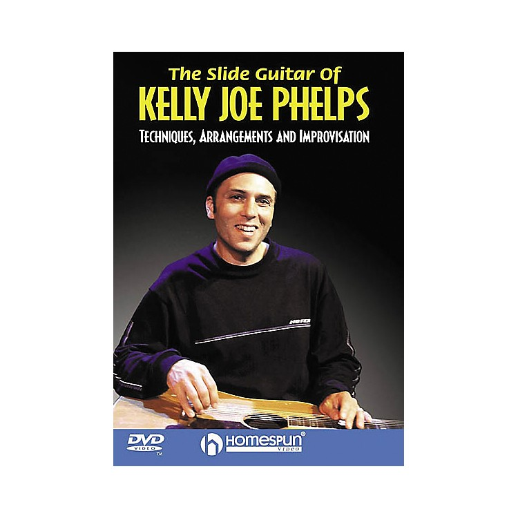 HomespunThe Slide Guitar of Kelly Joe Phelps (DVD)
