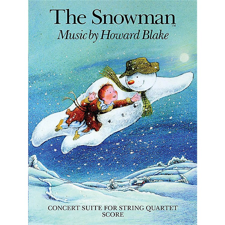 Chester MusicThe Snowman (Concert Suite for String Quartet) Music Sales America Series Softcover by Howard Blake