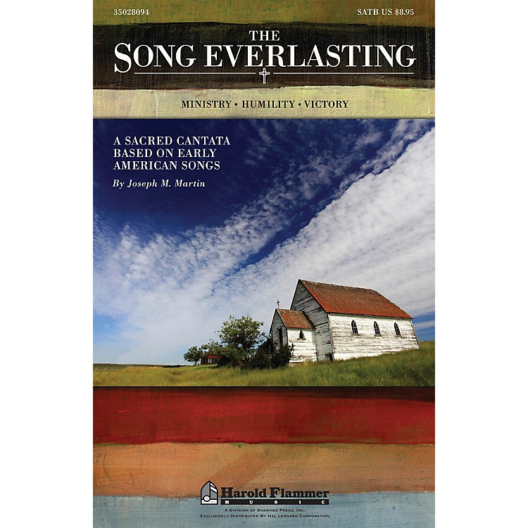 Shawnee PressThe Song Everlasting (A Sacred Cantata based on Early American Songs) Studiotrax CD by Joseph Martin