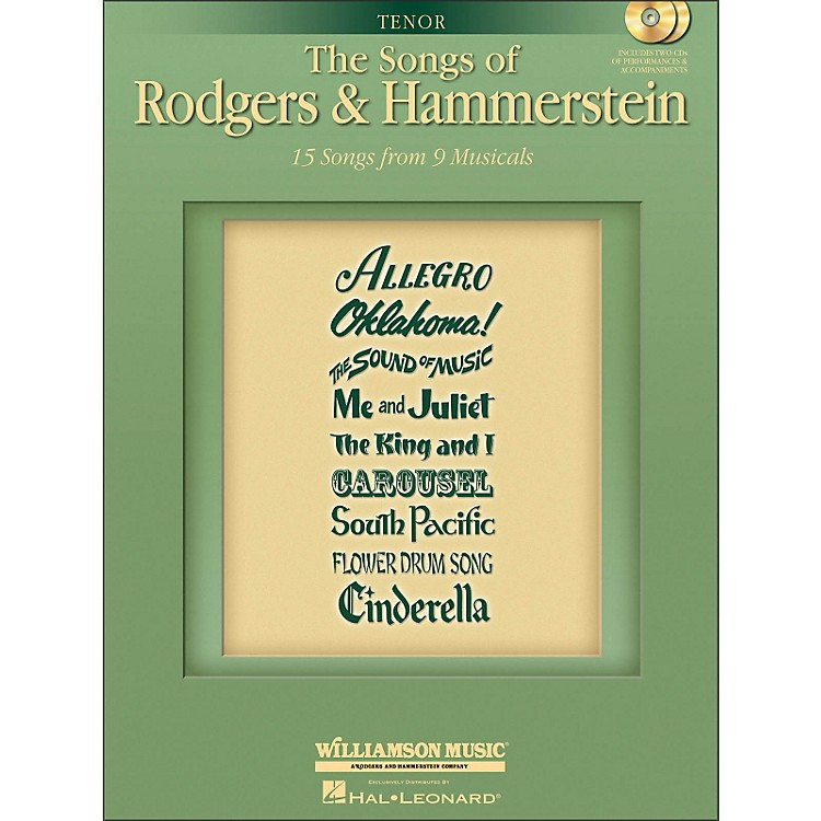 Hal LeonardThe Songs Of Rodgers And Hammerstein for Tenor Voice