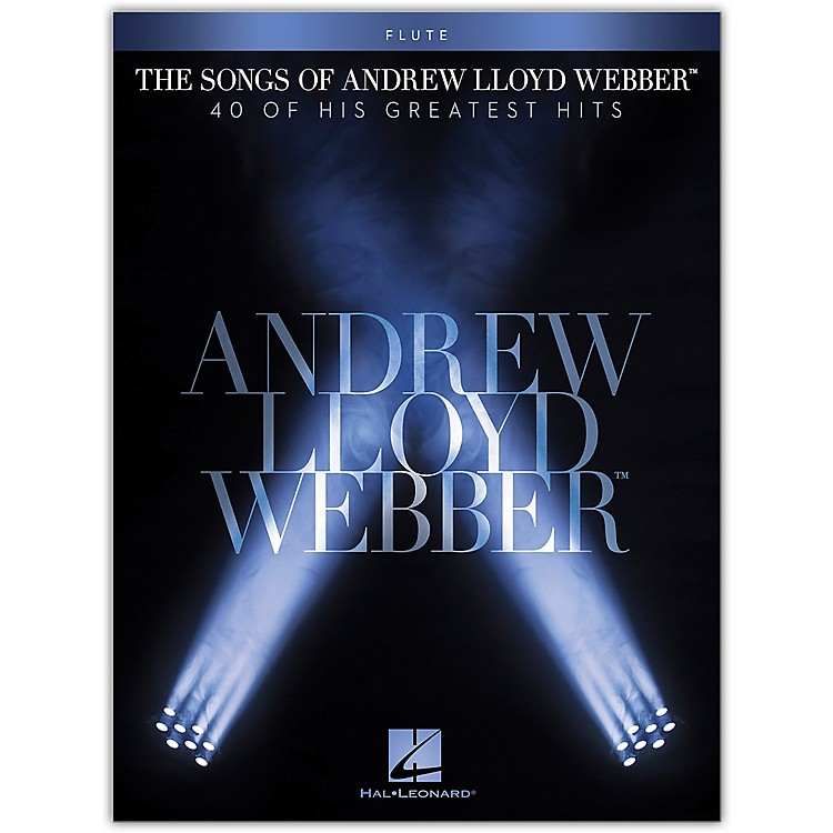 Hal Leonard The Songs of Andrew Lloyd Webber for Flute Instrumental Songbook