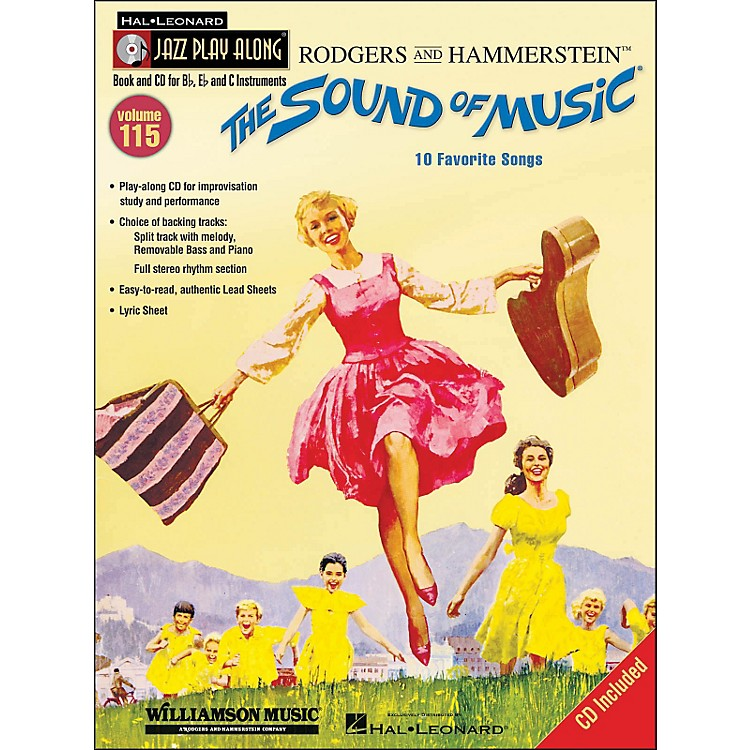 Hal Leonard The Sound Of Music - Jazz Play-Along Volume 115 (CD/Pkg)