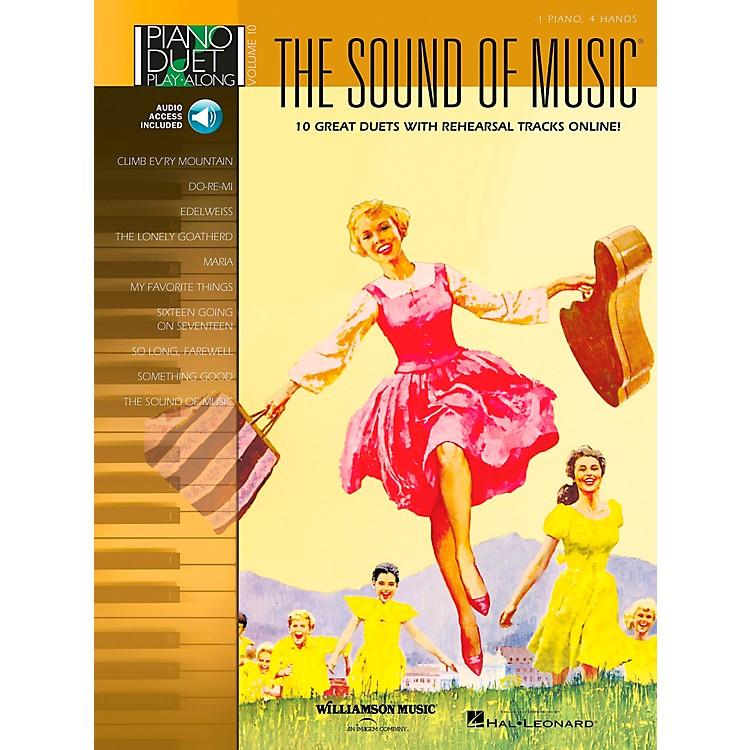 Hal LeonardThe Sound Of Music Piano Duet Play-Along Volume 10 Book/CD