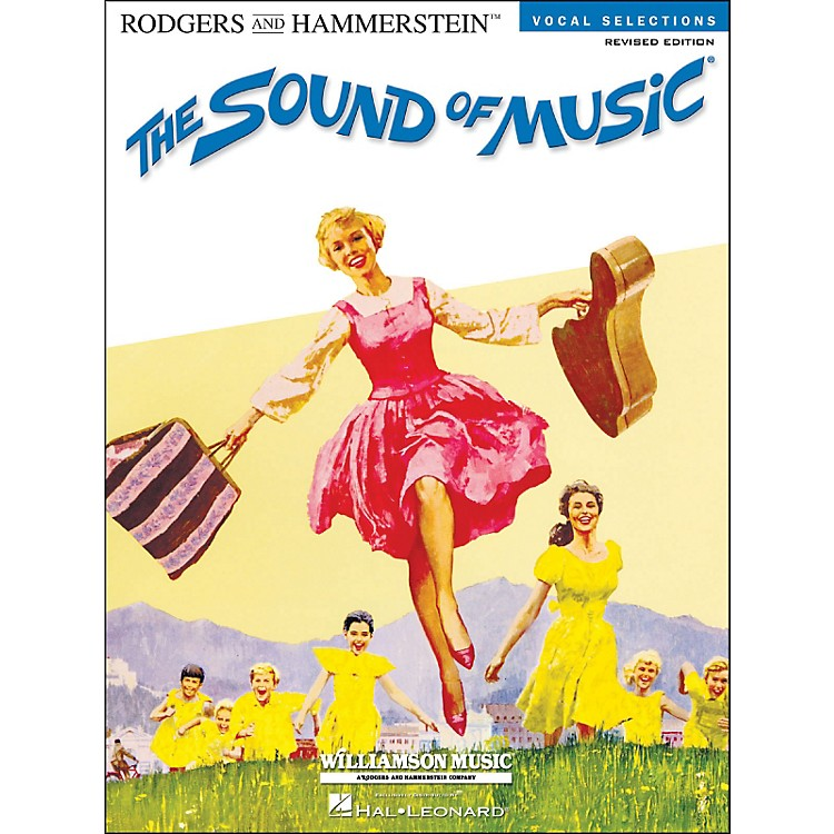 Hal LeonardThe Sound Of Music Vocal Selections Revised Edition arranged for piano, vocal, and guitar (P/V/G)