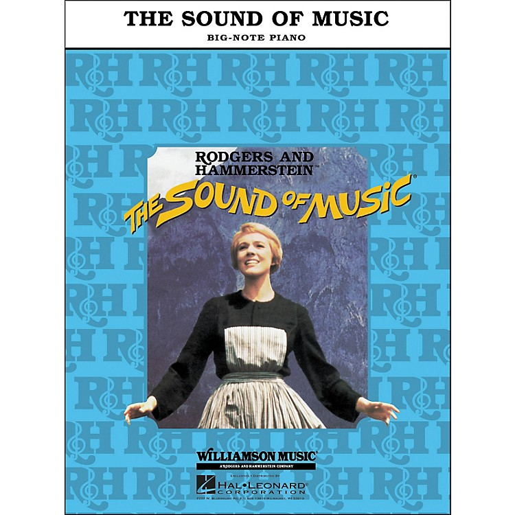 Hal LeonardThe Sound Of Music for Big Note Piano