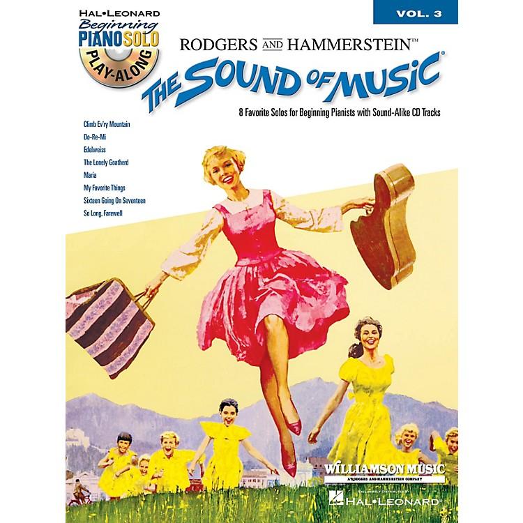 Hal LeonardThe Sound of Music Beginning Piano Solo Play-Along Vol. 3 Book/CD