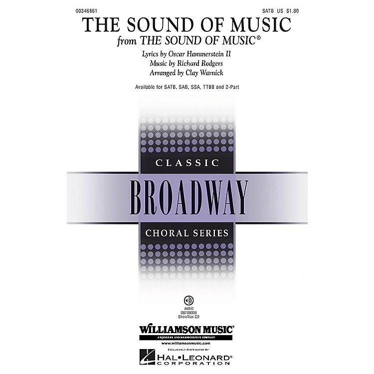 Hal LeonardThe Sound of Music (Medley) 2-Part Arranged by Walter Ehret