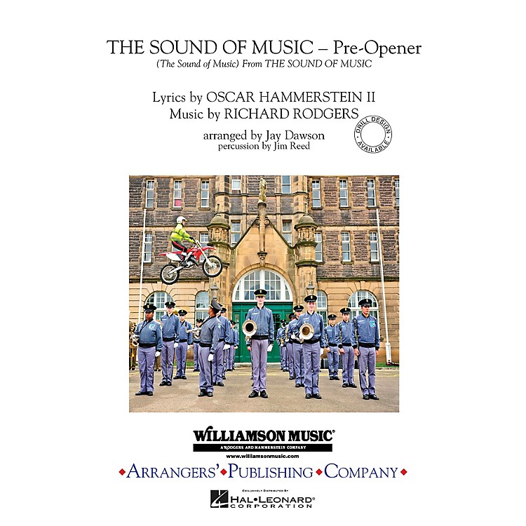 ArrangersThe Sound of Music (Pre-opener) (Includes: The Sound of Music) Marching Band Level 3 by Jay Dawson