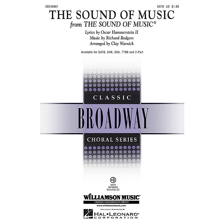 Hal Leonard The Sound of Music SSA Arranged by Clay Warnick