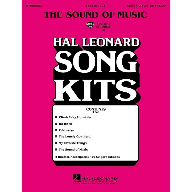 Hal LeonardThe Sound of Music (Song Kit #24) UNIS/2PT Arranged by Dick Averre