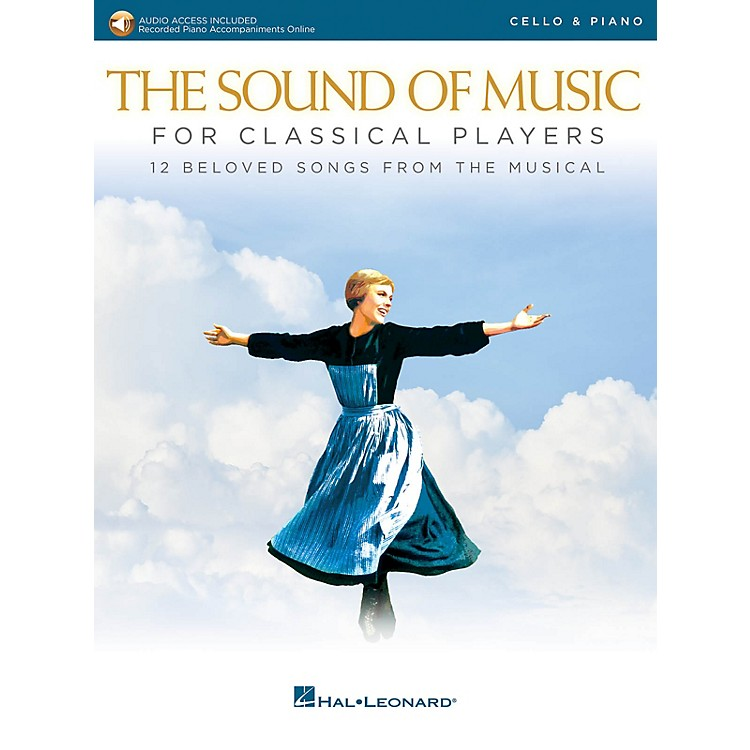 Hal LeonardThe Sound of Music for Classical Players - Cello and Piano Book/Audio Online