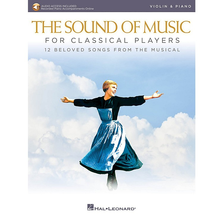 Hal LeonardThe Sound of Music for Classical Players - Violin and Piano Book/Audio Online