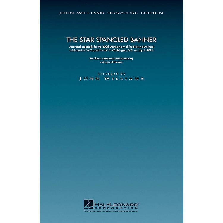 Hal LeonardThe Star Spangled Banner - 200th Anniversary Edition (SATB Chorus with Piano) arranged by John Williams