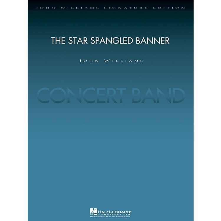 Hal Leonard The Star Spangled Banner (2004 Rose Bowl Edition Deluxe Score) Concert Band Level 5 by John Williams