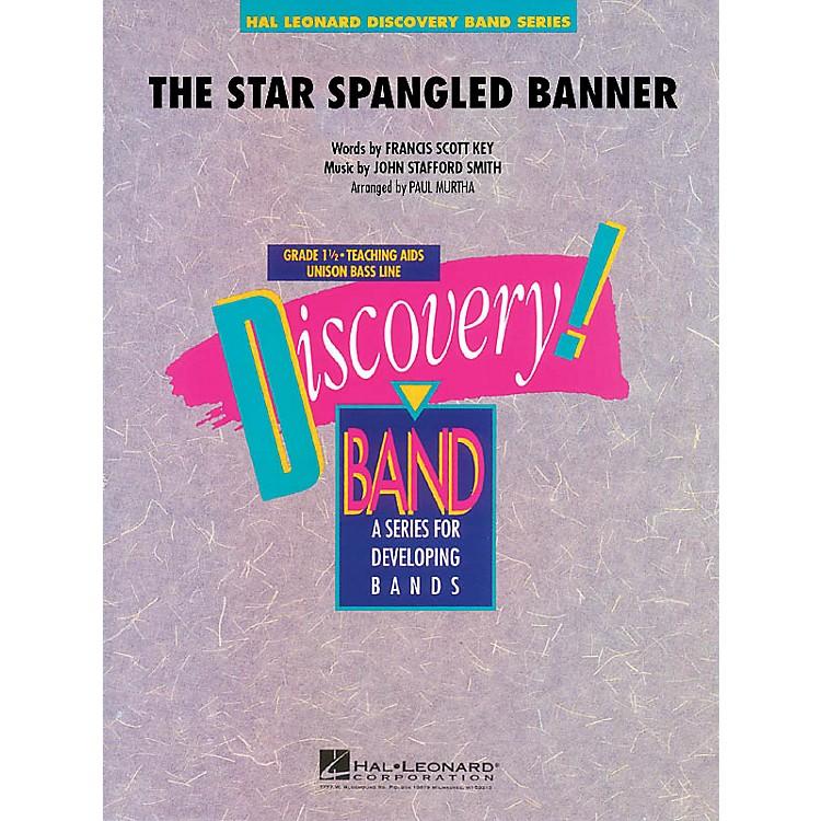 Hal LeonardThe Star Spangled Banner Concert Band Level 1.5 Arranged by Paul Murtha