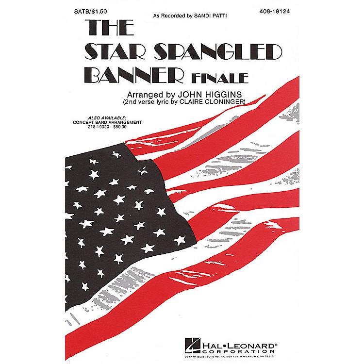 Hal LeonardThe Star Spangled Banner (Sandi Patty Version) SATB by Sandi Patti arranged by John Higgins