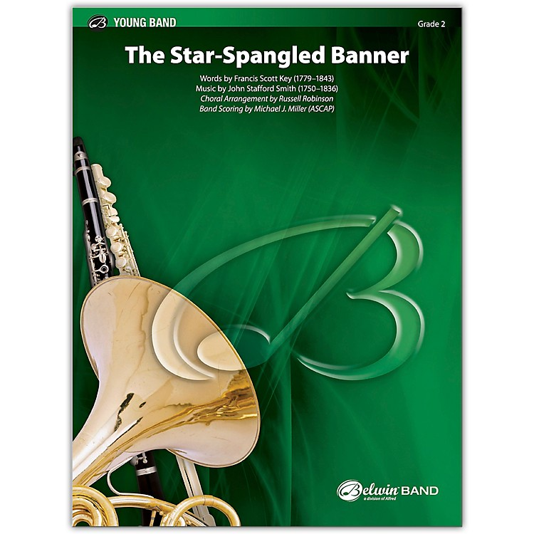 BELWIN The Star-Spangled Banner (for Band and Optional Choir) 2 (Easy)