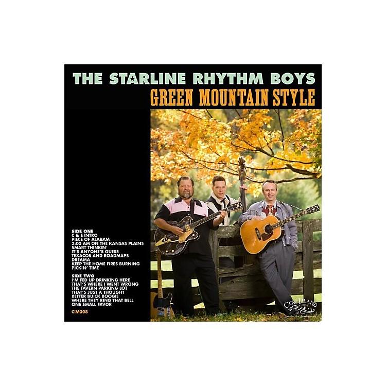 AllianceThe Starline Rhythm Boys - Green Mountain Style