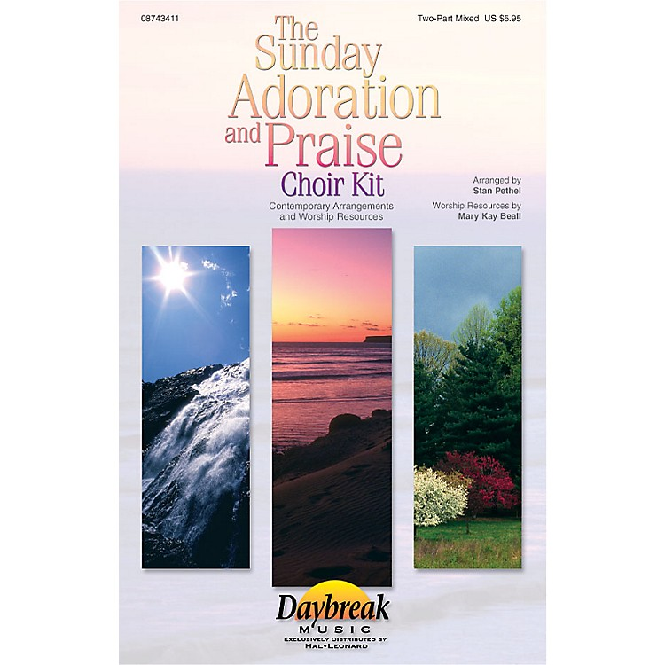 Hal Leonard The Sunday Adoration And Praise Choir Kit Preview Pak Arranged by Stan Pethel