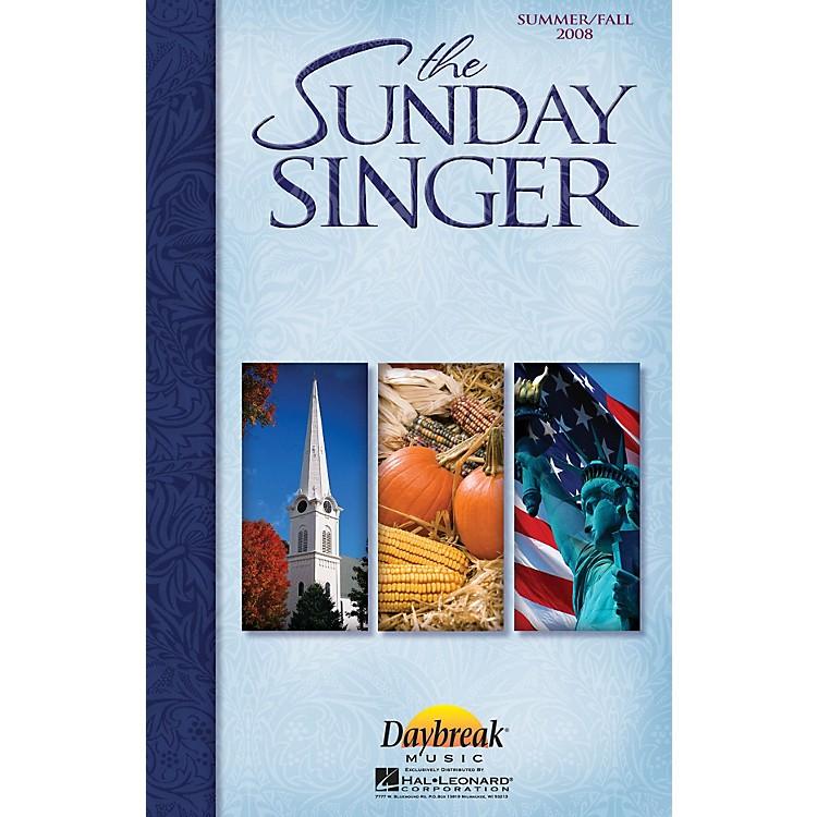 Daybreak MusicThe Sunday Singer - Summer/Fall 2008 CHOIRTRAX CD