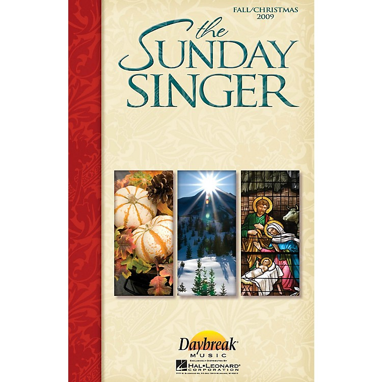 Daybreak Music The Sunday Singer (Fall/Christmas 2009) CHOIRTRAX CD