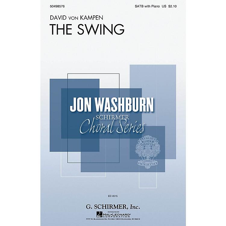 G. SchirmerThe Swing (Jon Washburn Choral Series) SATB composed by David von Kampen