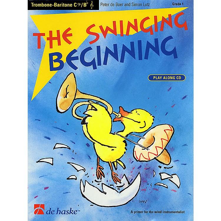 De Haske MusicThe Swinging Beginning (Trombone) De Haske Play-Along Book Series