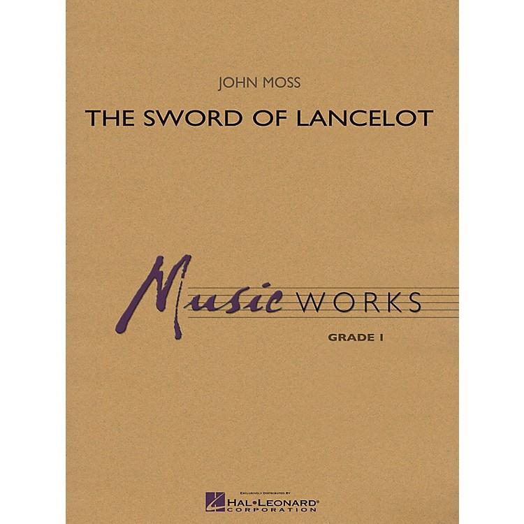 Hal LeonardThe Sword of Lancelot Concert Band Level 1.5 Arranged by John Moss