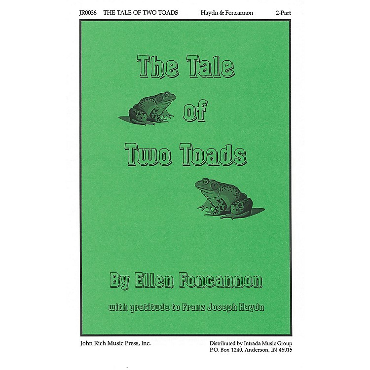 PavaneThe Tale of Two Toads 2-Part composed by Franz Joseph Haydn