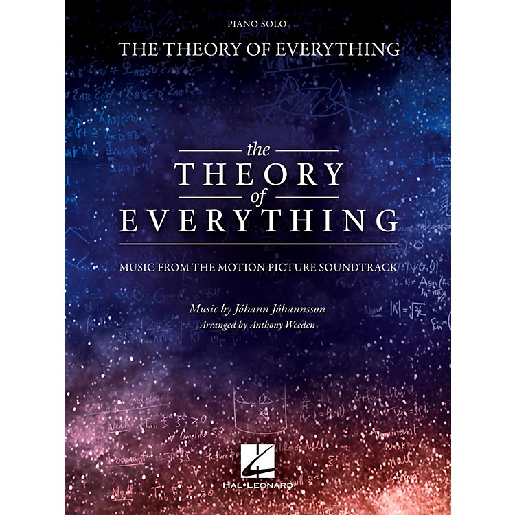 Hal Leonard The Theory of Everything - Music From The Motion Picture Soundtrack
