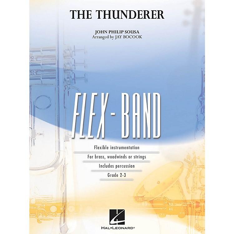 Hal LeonardThe Thunderer Concert Band Level 2 Arranged by Jay Bocook