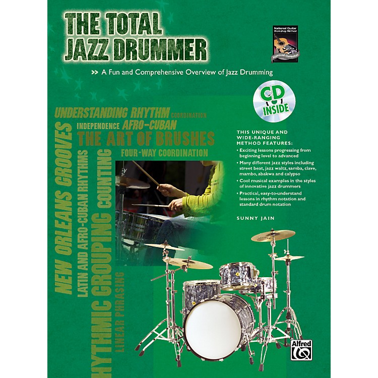 Alfred The Total Jazz Drummer Book and CD