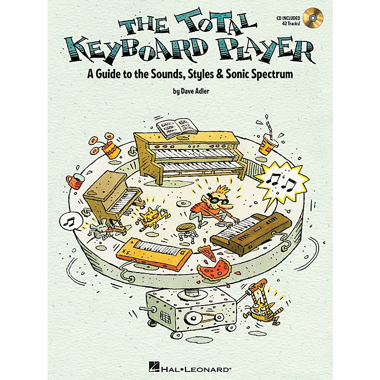 Hal Leonard The Total Keyboard Player Keyboard Instruction Series Softcover with CD Written by Dave Adler