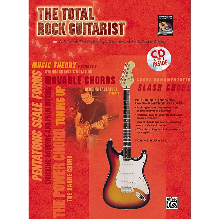 AlfredThe Total Rock Guitarist Book and CD