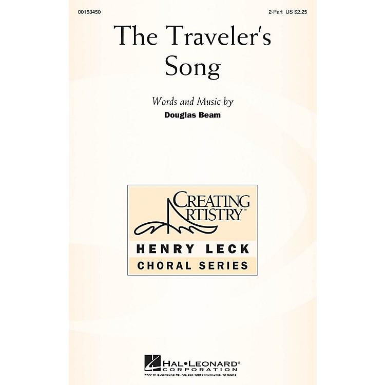 Hal LeonardThe Traveler's Song 2PT TREBLE composed by Douglas Beam