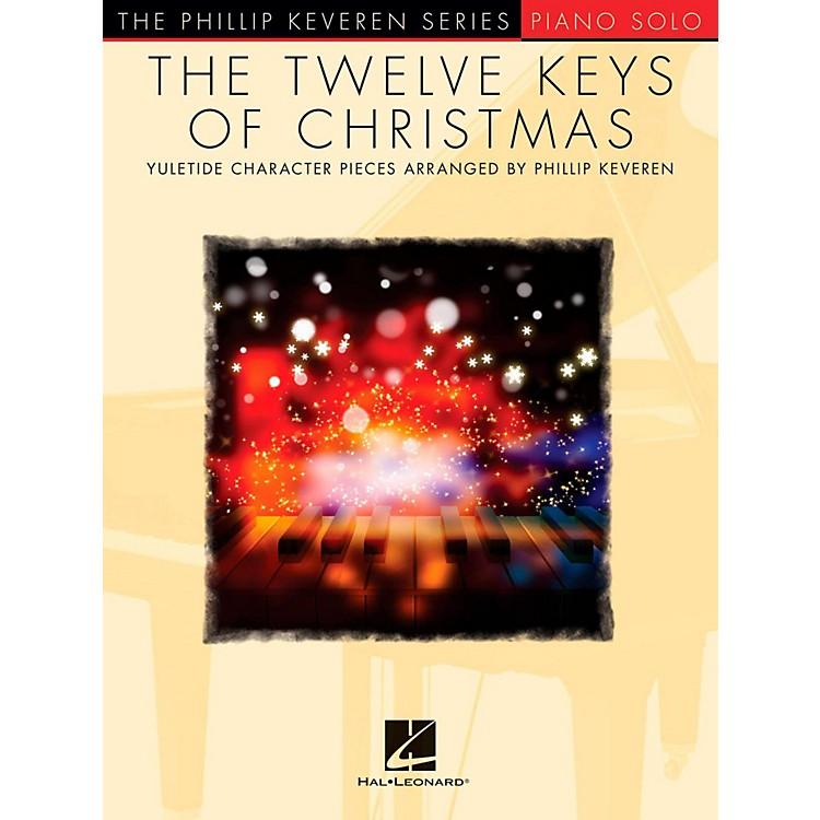 Hal LeonardThe Twelve Keys Of Christmas - Phillip Keveren Series - Piano Solo